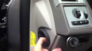 volvo s40 steering column cover panel removal youtube