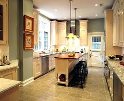 narrow kitchen with island narrow kitchen island guideable co