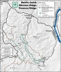 Map Of Leavenworth Wa Tronsen Ridge Epic Mountain Bike Trail In Cashmere Washington
