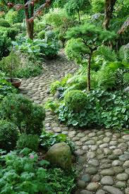 River Rock Garden by 12 Backyard Rock Pathways To Die For Page 2 Of 13 Garden Paths