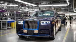 roll royce purple first 2018 rolls royce phantom heading to auction in january