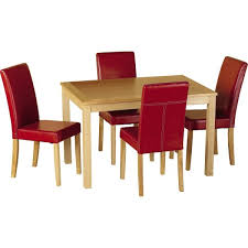 cheap red dining table and chairs heartlands butterfly drop leaf wooden dining table with free
