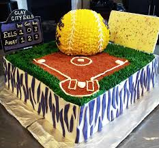 senior night softball cake cakecentral com