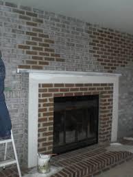 elegant brick fireplace indoor outdoor home designs image of ideas