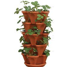 mr stacky vertical u0026 wall planters pots u0026 planters the home