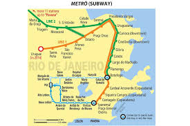 La Subway Map Brazil Mapa Metro