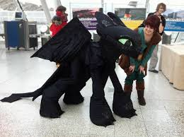 toothless costume toothless and hiccup by theempiresguild on deviantart