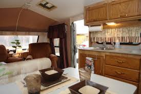 Kitchen Trailer For Sale by Award 730 Travel Trailer Large Living Room Dinette And Full