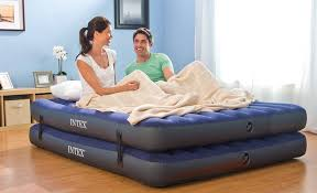 walmart intex full size downy inflatable airbed mattress only