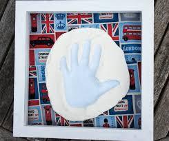 diy clay print gift present baby prints using baking