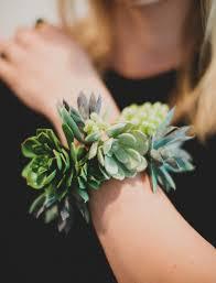 How To Make A Corsage Wristlet Diy Succulent Wrist Cuff Green Wedding Shoes Weddings Fashion