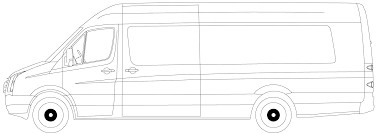 volkswagen bus drawing car blueprints volkswagen crafter blueprints vector drawings