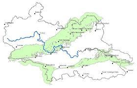 thames river map europe chalk aquifer properties thames basin british geological survey