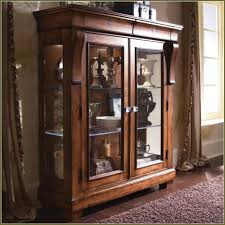 wood curio cabinet with glass doors catchy brown wooden curio cabinet and glass shelves plus curio with
