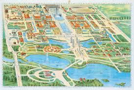 Buffalo Map The Buildings Pan American Exposition Of 1901 University At