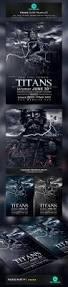 vampire night flyer poster movie template psd design download