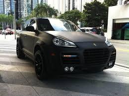 porsche cayenne black rims black on black porsche cayenne turbo w matte black exterior