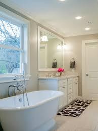 bathroom modern bathroom design with elegant freestanding