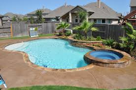 free form swimming pool and spa in katy tx houston tx features
