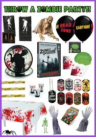 walking dead party supplies creepy supplies for a party determined momma