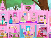 princess castle doll house play the game online
