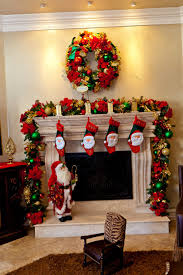 decoration christmas fireplace garland ideas pine cone crafts