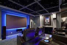 Home Theater Ceiling Lighting South Home Theater