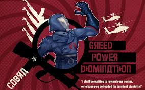 Cobra Commander Meme - cobraaaa war propaganda parodies know your meme
