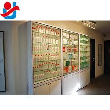 display cabinet with glass doors 87 tall modern white lockable glass doors skin care products