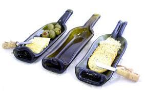 melted wine bottle platter botellas de vidrio derretidas esto es increíble dizajna