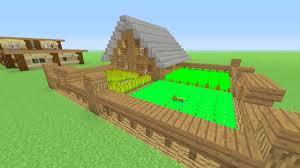small farm house minecraft tutorial youtube