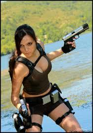 Lara Croft Tomb Raider Halloween Costume Cosplay Lara Underworld Pic Bored
