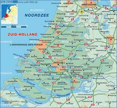 Map Of The Netherlands Map Of Zuid Holland Netherlands Map In The Atlas Of The World