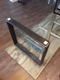 Schreibtisch Kufen Stoffsalat Diy Schreibtisch Im Industrie Design