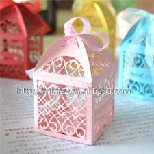 christening party favors filigree paper box wedding favors gifts wedding baby shower