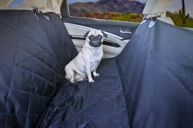 devoted doggy premium dog seat cover with hammock feature with free do