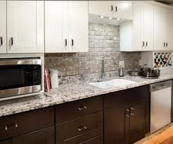 black backsplash in kitchen black and white backsplash tag white kitchen cabinets with granite