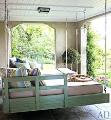 Daybed Porch Swing Daybed Porch Swing Outdoor Porch Beds That Will Make Nature Naps