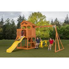 swing n slide pb 8320 trekker play set hayneedle