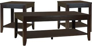 the brick coffee tables aspen 3 piece coffee and two end tables package aspen and bricks