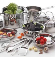wolfgang puck stainless steel cookware reviews