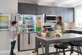 top of fridge storage right size refrigerator for a family of four tech life samsung