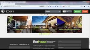 Real Estate Joomla Template Free by Eco House Joomla Real Estate Template Youtube