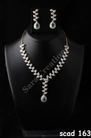 designer diamond sets unique design diamond necklace set creations mumbai id