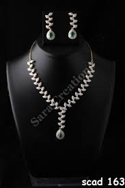 diamond sets design unique design diamond necklace set creations mumbai id