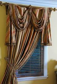 Fishtail Swag Curtains Valances For Windows Fishtail Swag Curtains How To Make A Swag
