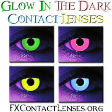 glow dark contacts rave contact lenses
