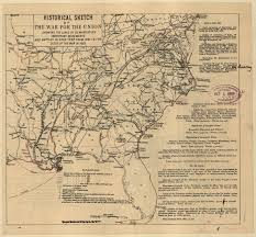 United States Civil War Map by Doc Butler U0027s U S History Website For Students Maps