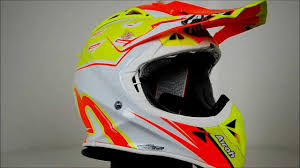 airoh motocross helmet airoh aviator 2 1 222 cairoli replica 360 video youtube