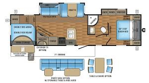 jayco eagle ht 295dbok travel trailer floor plan